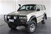 1997 Toyota Landcruiser GXL 4x4 HZJ80 4.2Ltr Diesel Man 8 Seats Wagon