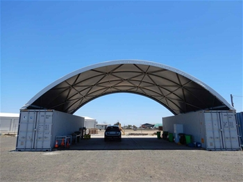 Dome Container Shelter