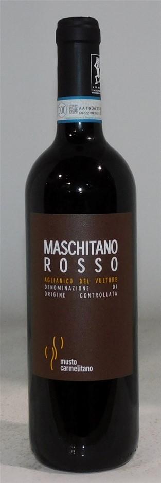 Musto Carmelitano 'Maschitano Rosso' Aglianico Del Vulture 2014 (6 x750mL)