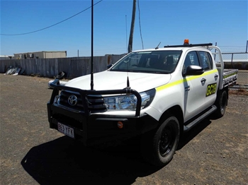 2018 Toyota Hilux SR 4WD Manual - 6 Speed Dual Cab Ute