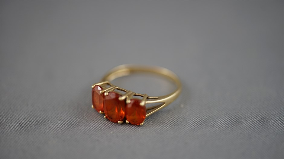 Stamped 9ct Yellow Gold Ring