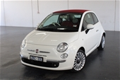 Unreserved  2013 Fiat 500 C TWINAIR LOUNGE Manual