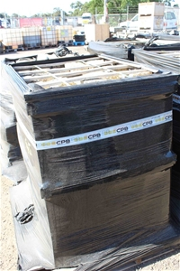 Wooden Crate Sandstone 100lb Cable Stone