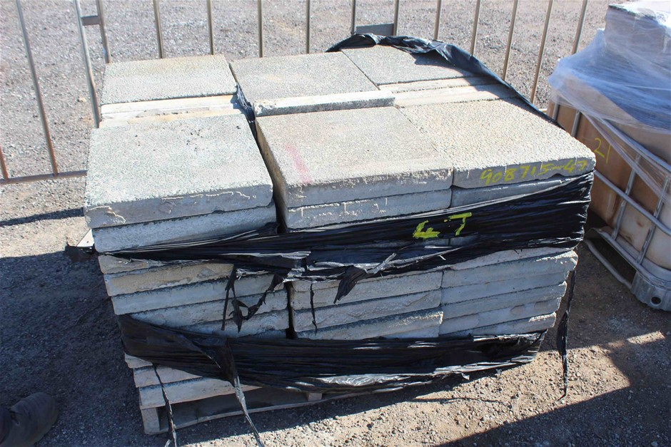 1 x Pallet of Aggregate Concrete Slabs