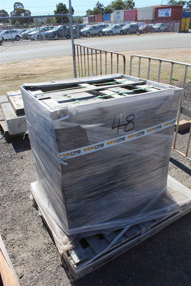 Crate of Concrete Slabs