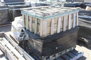 Pallet of Sandstone 100lb Cable Stones