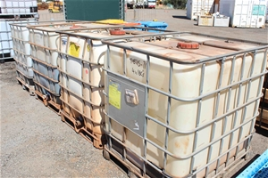 4 x 1BC 100 Litre Containers