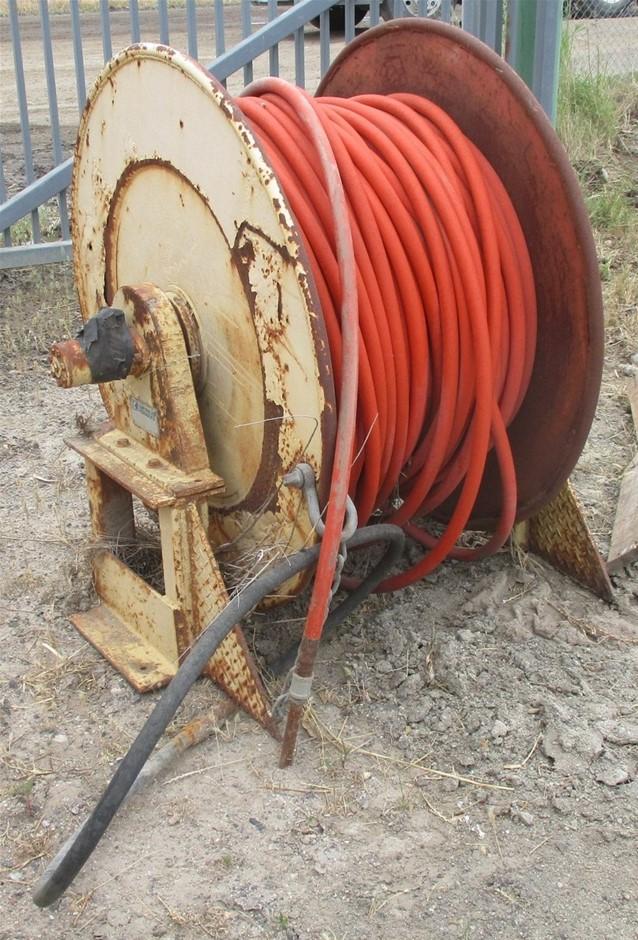 Hydraulic High Pressure Hose Reel an Hose