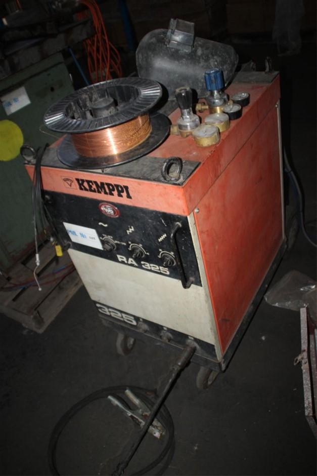 Kemppi RA-325 Mig Welder & Wire Feeder