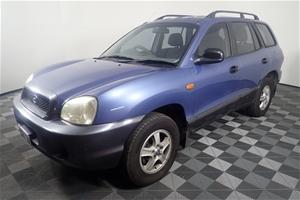 2001 Hyundai Santa Fe GL (4x4) Manual Wa