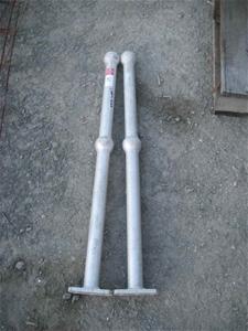 Aluminium Handrail Posts x 2