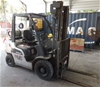 4 Wheel Counterbalance Forklift