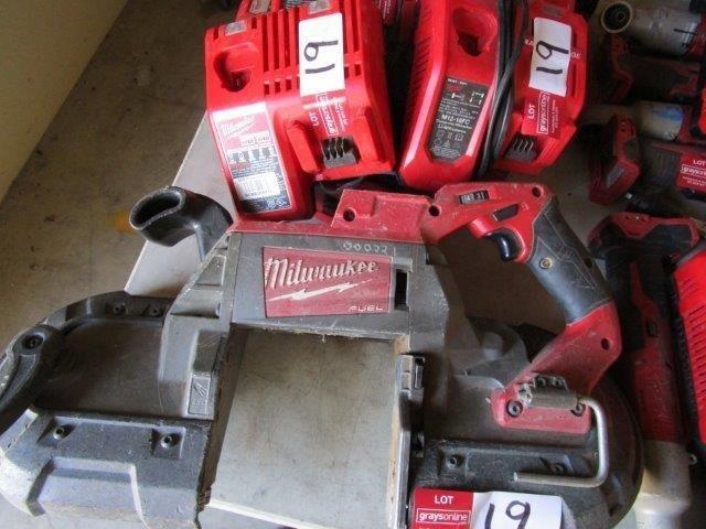 Milwaukee Brushless 18 Volt Handheld Bandsaw