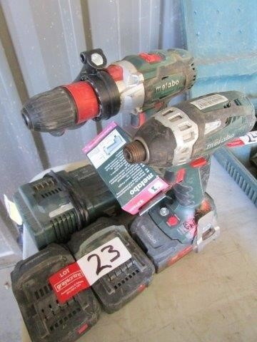 Metabo Drill and Driver Set
