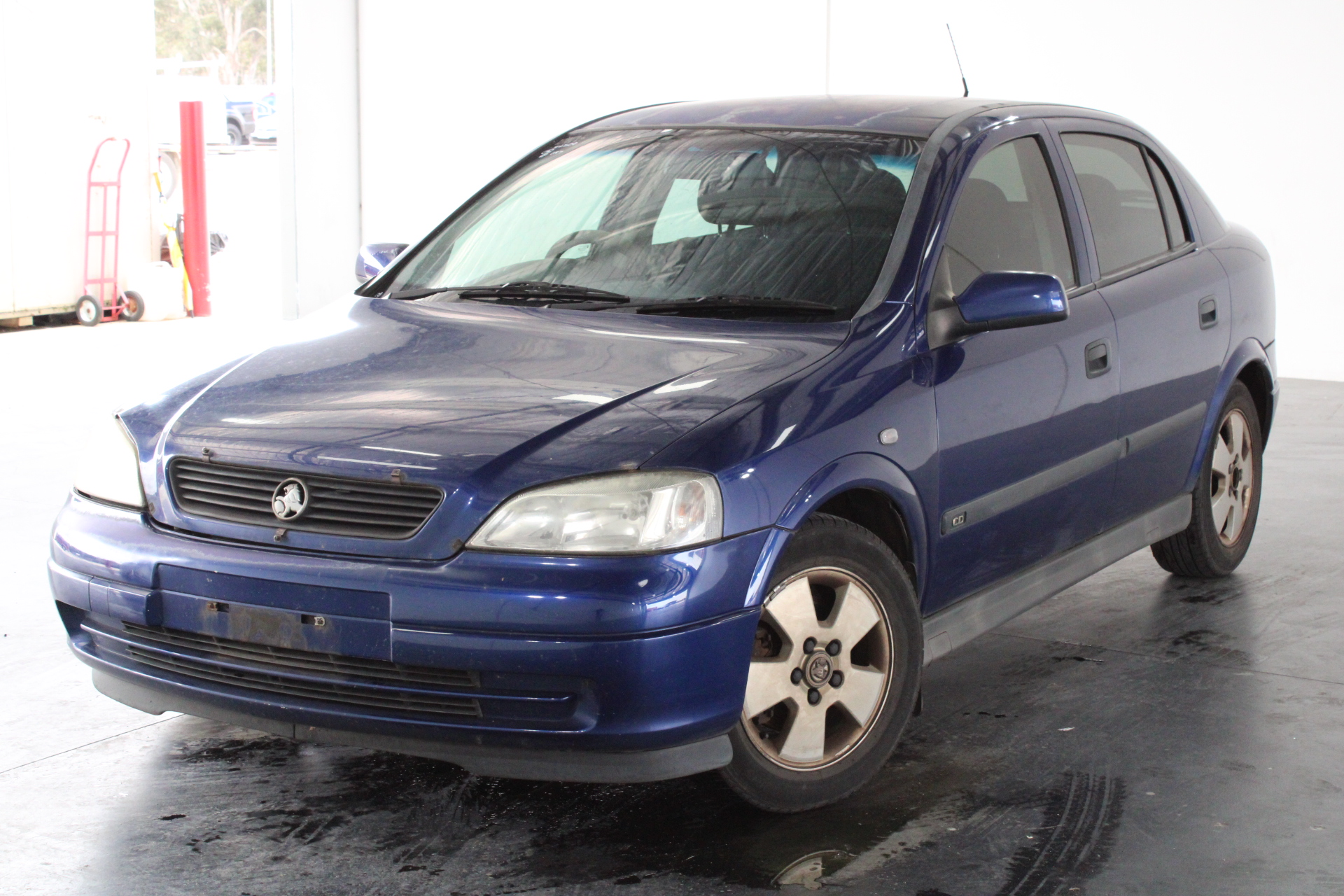 2003 Holden Astra CD TS Automatic Hatchback