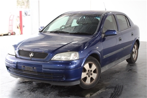 2003 Holden Astra CD TS Automatic Hatchb