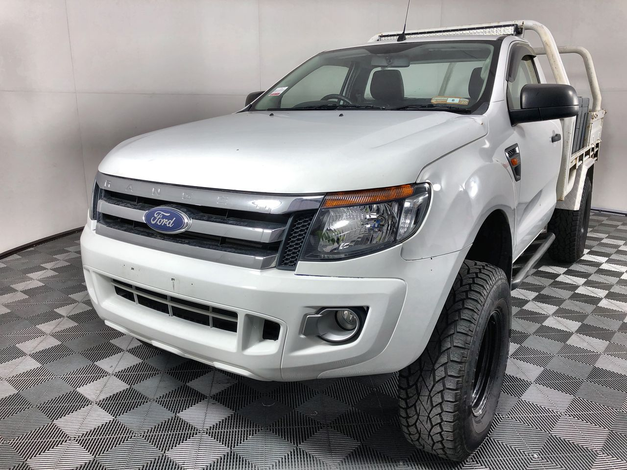 2012 Ford Ranger XL 3.2 (4x4) PX Turbo Diesel Cab Chassis