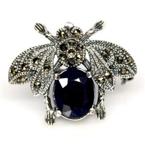 Unique Genuine Midnight Blue Sapphire Be