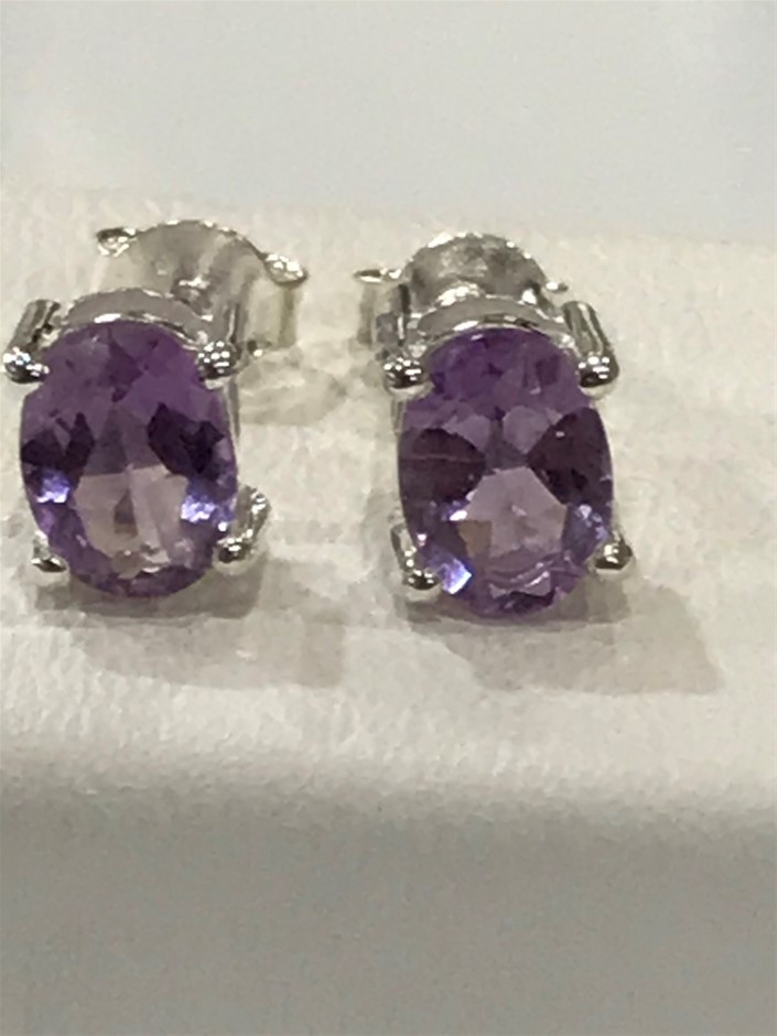 Magnificent Pink Amethyst 3.20ct Earrings