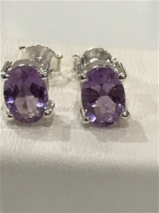 Magnificent Pink Amethyst 3.20ct Earring