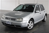 Unreserved 2002 Volkswagen Golf GL Rally A4 Auto Hatch