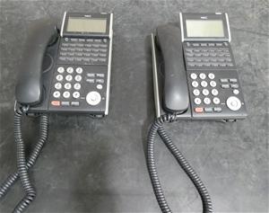 Carton of Used NEC Telephones