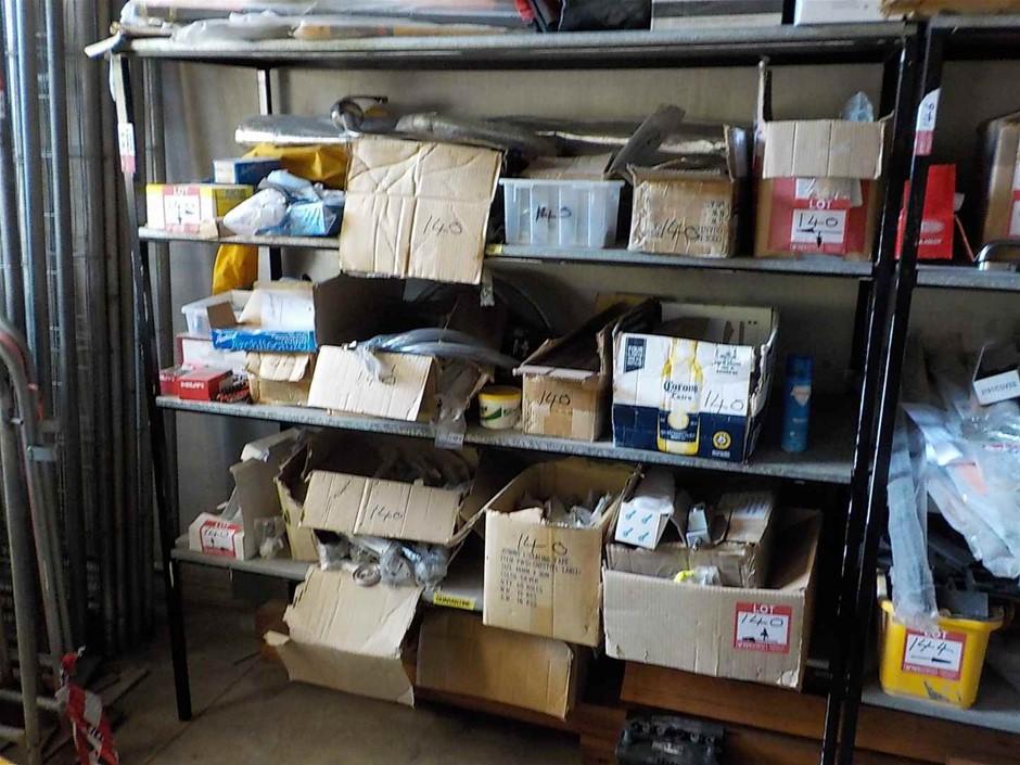 Assorted Fasteners and Hardware (3 Shelf Bays)