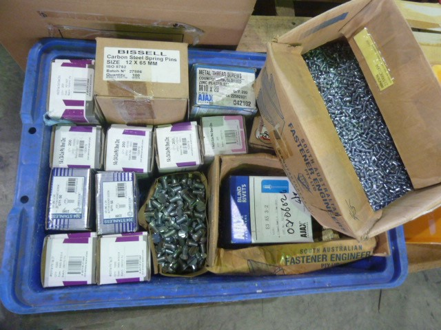 Crate Of Stainless & Steel Items Including (Pooraka, SA)