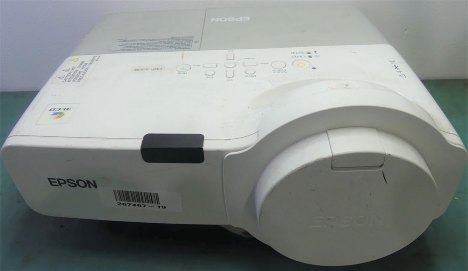 Epson LCD Projector H281B Remote Control Not Included <b