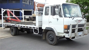 Unreserved Crane Truck