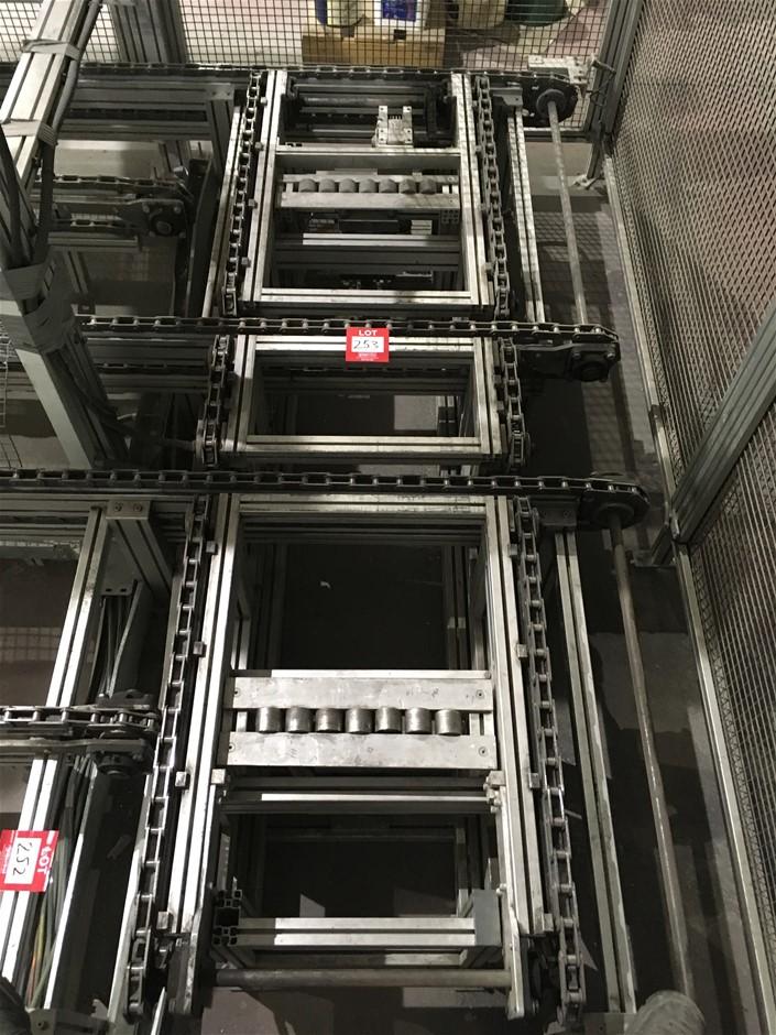 MINITEC Aluminium Conveyor 450mm (H) x 1140mm (W) x 2700mm (L) approx.