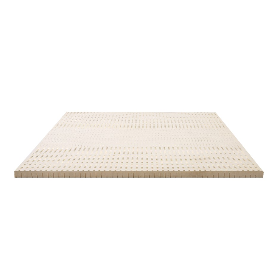 Giselle Bedding 7 Zone Pure Natural Latex Mattress Topper Underlay Double