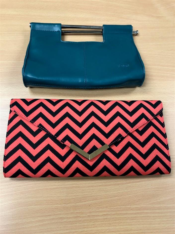 A quantity of ladies handbags and clutches (Pooraka, SA)