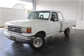 Unreserved 1991 Ford F Series C/Cab 3 auto Ute