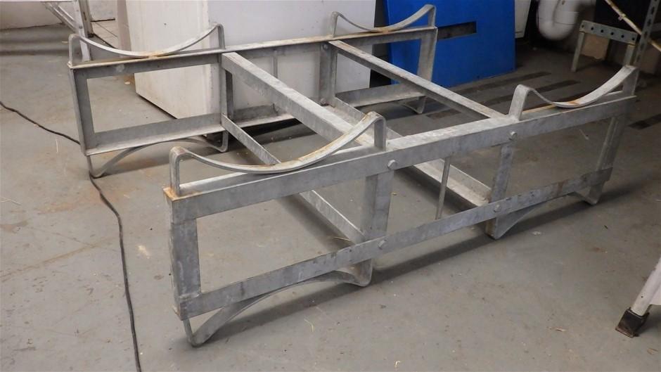 Galvanised Steel Barrel Racks