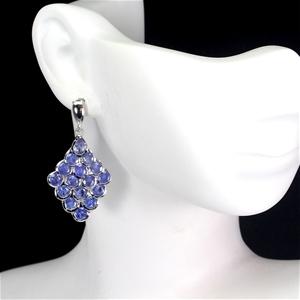 Beautiful Genuine Tanzanite Drop Earring