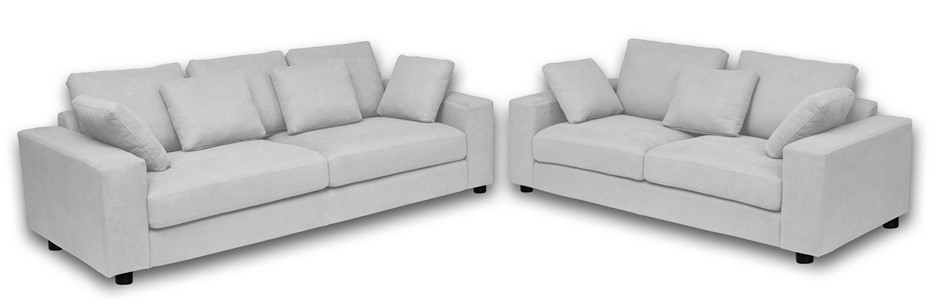 Kady 3 Seater + 2 Seater Sofa Package - Mist