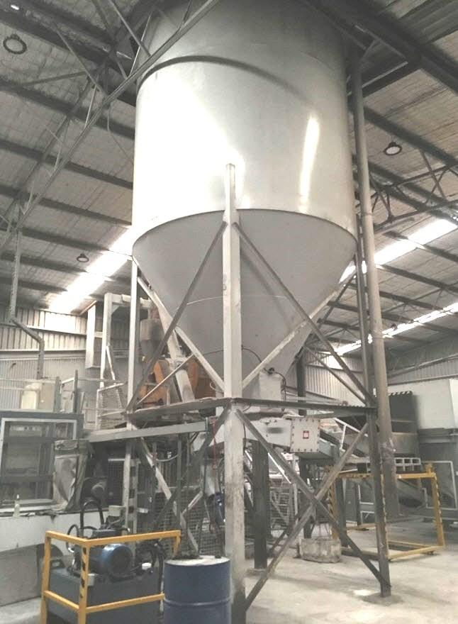 SILO Tylden Equipment. MD 51.6. (65 tonne cement)