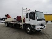 Cancelled: BUY NOW - 2007 Isuzu FVR900 Crane Truck
