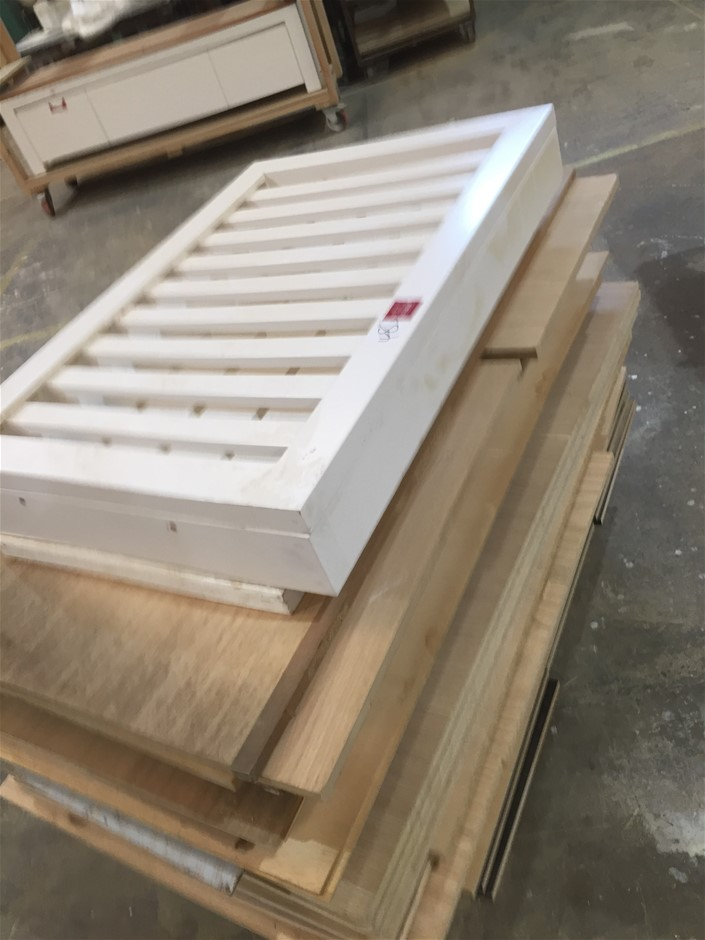 Over 50 Pieces Off Cuts Board in random size Location: Unit 3 /71 At