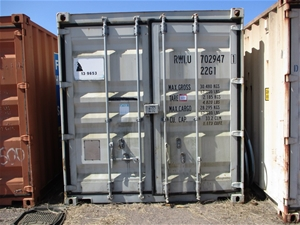 20 Foot Shipping Container with contents