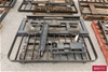 <b>Forklift Frame</b> <li>Size: (W)1500mm (H)1160mm <li>Damage: Scraped,