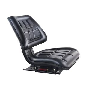 Giantz PU Leather Tractor Seat with Slid