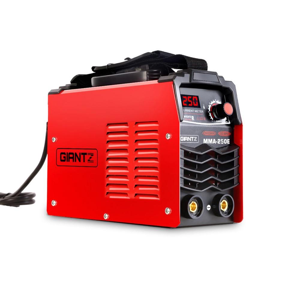 Giantz Portable MMA Inverter Welder Stick ARC DC Metal Welding Machine