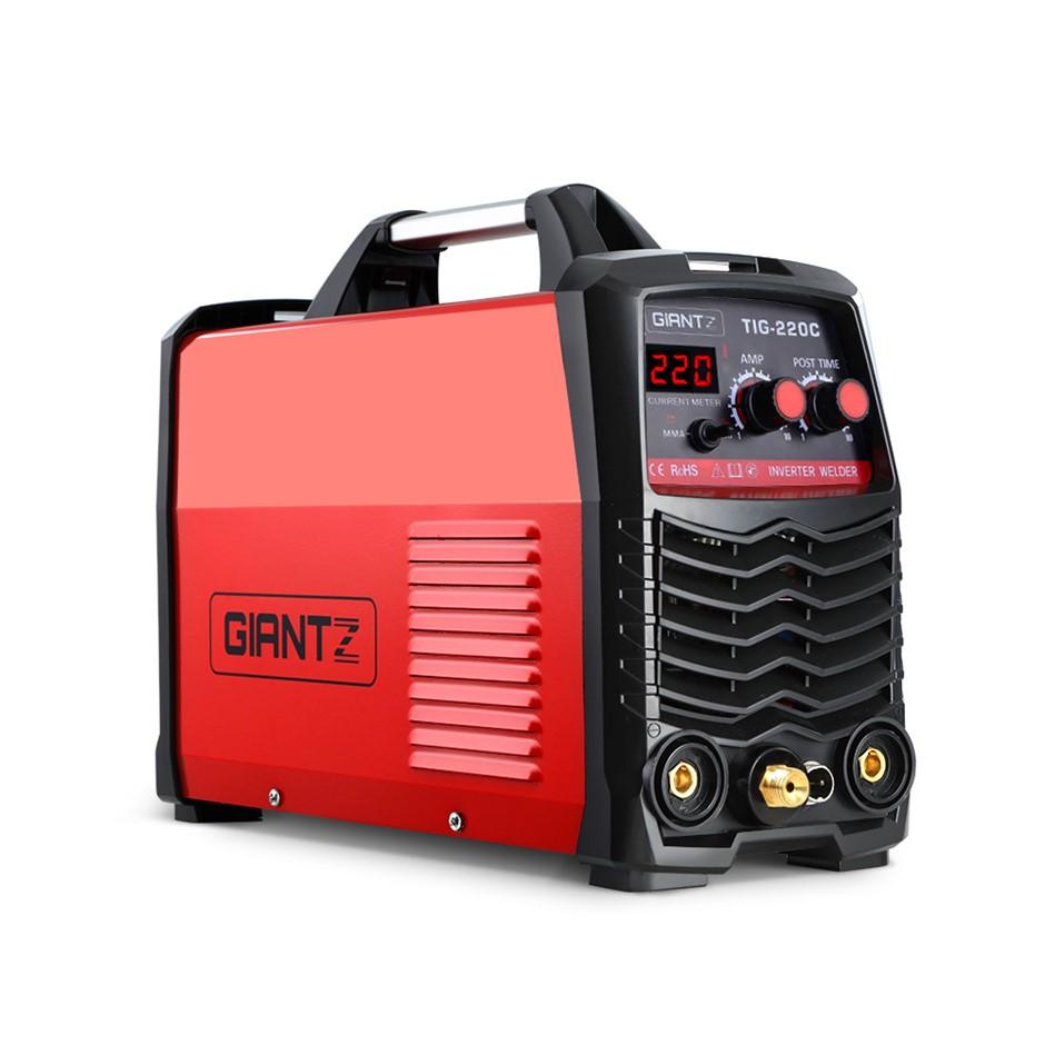 TIG Inverter Welder Portable ARC Stick DC Gas Welding Machine 220A