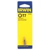 25 x IRWIN T7 x 25mm Torx Insert Bits. (SN:3513091C-K25) (268606-121)