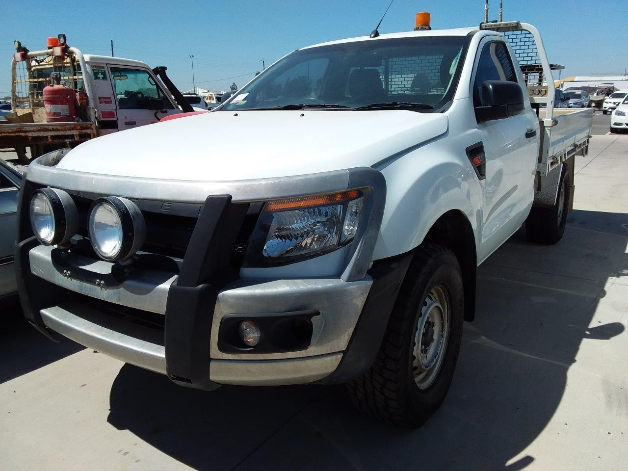 2013 Ford Ranger XL 4X4 PX Turbo Diesel Cab Chassis