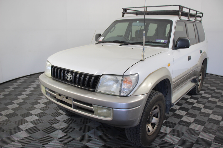 1998 Toyota Landcruiser Prado GXL (4x4) VZJ95R Manual 7 Seats Wagon