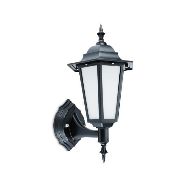 FL7321 - FUZION Lighting LED Lantern 7W 4000K Black Finish