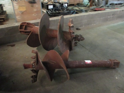 Qty 2x Earth Augers